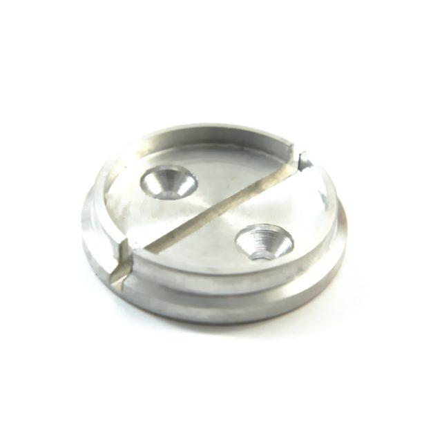 Чашка для опечатывания, алюминий, диаметр 25 мм